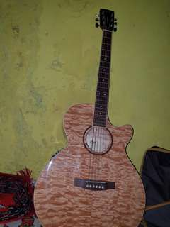 Gitar Cort Sfx Qm Nat Original