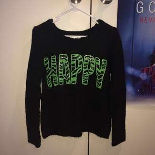 'Happy' jumper