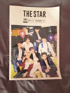 THE STAR Fashion Beauty Magazine April 2016 Issue 36 GOT7