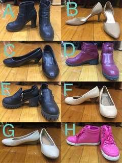 🚚 💙二手24.5 /39 黑色粗跟靴