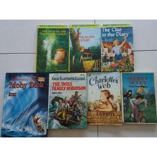 Childhood Classics - Novels/Storybooks