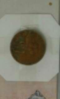 Malaysia RM 1 coin
