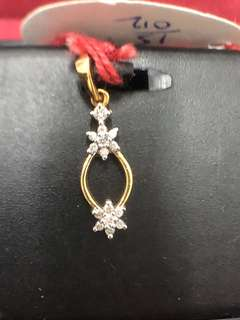 Star Oval Pendent