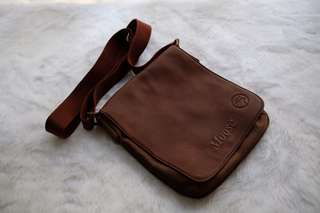 Norwegian Elk Leather Bag