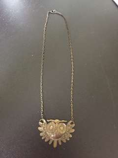 Owl Statement Necklace