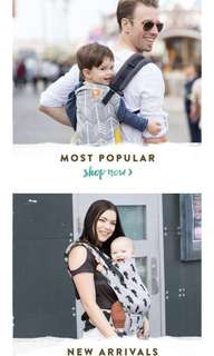Brand New Tula Carriers