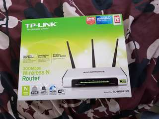 TP-link Router 300Mbps Wireless N Release