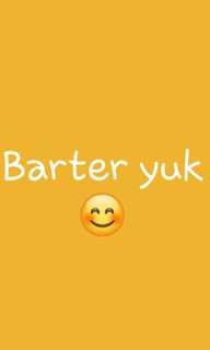 Barter yuk 😊