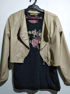 OOTD Leather Jacket