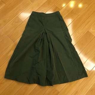 日本beams boy b ming綠色裙褲