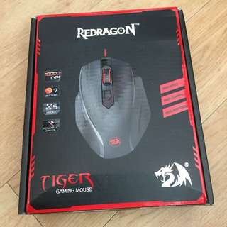 Red dragon Tiger Gaming Mouse