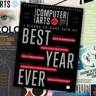 Majalah Computer Arts - Graphic Design Magazine - Majalah Desain Grafis - Buku Design - Updated - eBook e-Book - eMagz