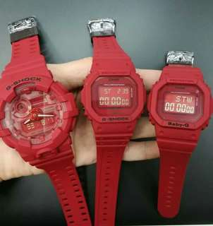 G shock 35th anniversary red complete package OEM