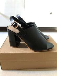 Primadonna Black Mules Sandals