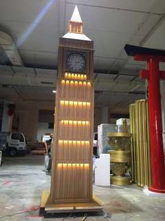 Functional Big Ben clock 4m Height