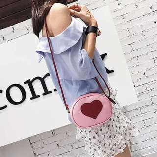 Mini Heart Sling Bag