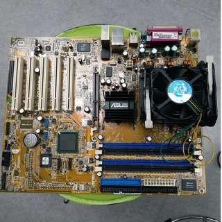 Asus 電腦底板 連 cpu