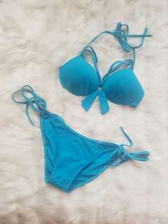 2 pcs sky blue swimsuit
