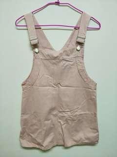 粉色吊帶短裙