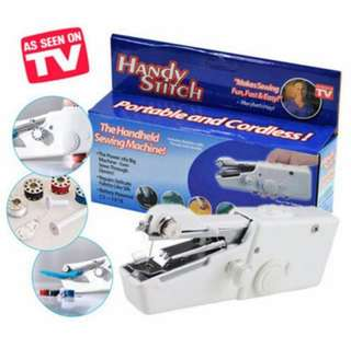 💄💋 Handy Stitch Handheld Sewing Machine Portable & Cordless AS SHOWN IN TV
