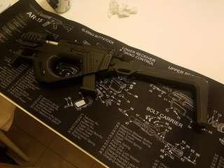 SRU Glock G18c Carbine full auto. (WE base)