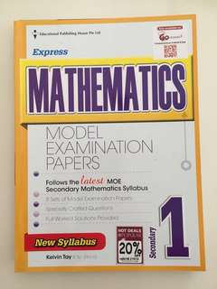 Math Model Examination Papers for Sec 1