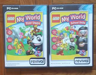 Lego My World games PC/MAC CD-ROMS