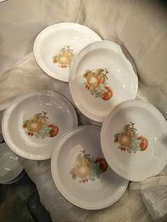 5pc of Vintage  porcelain 5pc x3=15