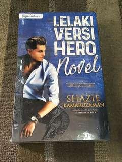 Lelaki Versi Hero Novel, Shazie Kamaruzaman