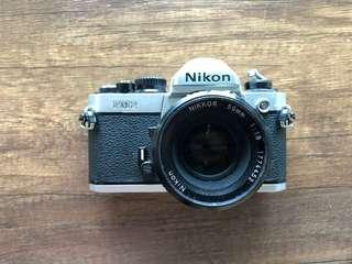 Nikon FM2n + 50mm 1.8 Lens + film