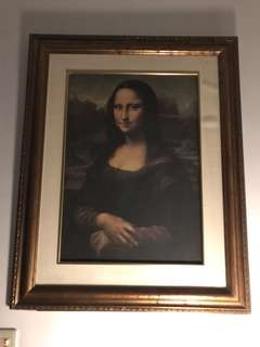 Mona Lisa Replica From France