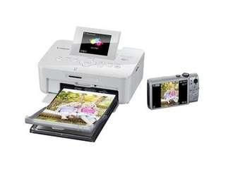 99% new Canon Selphy CP910 行貨 白色 跟數盒不同尺寸相紙