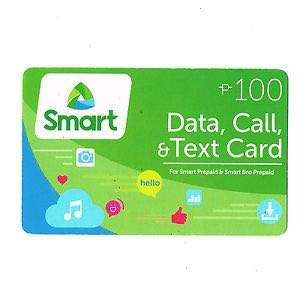 Smart Prepaid Load Card 100 for PhP90