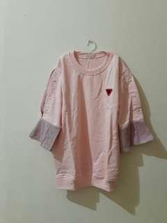 Kaos fashion pink