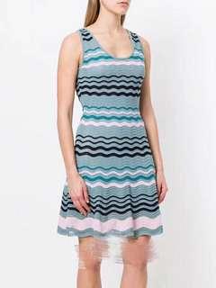 Missoni水波紋針織洋裝