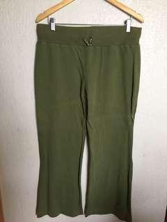 Green Jogging Pants