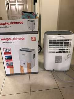 Dehumidifier + fullest myset with  warranty
