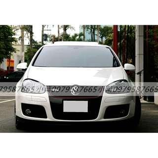 專辦全額貸 零元可交車 2007  福斯汽車 GTI  2.0 白色 自排