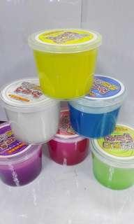 Slime(拉麵膠)(鬼口水) 6色選擇。每盒15.
