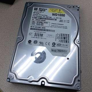 電腦 hard disk 100G