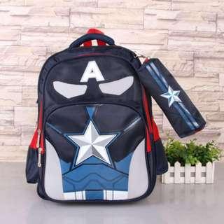 Captain America Bag Pack