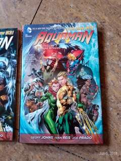 Aquaman vol 1 &2 graphic novel