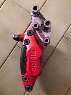Aprillia 125 brake caliper + bracket for rxz standard disc