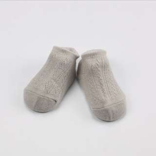 Grey 3 Pairs (can mix) Hollow Mesh baby's Socks