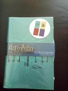 Harry Potter set of notebooks