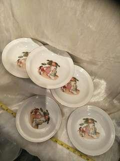 5pc Vintage  porcelain x8=$40
