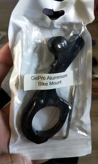 Gopro camera mount with other accessories