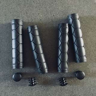 Fabric Silicon Handle grips