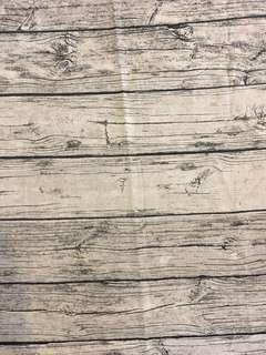 Wood fabric print