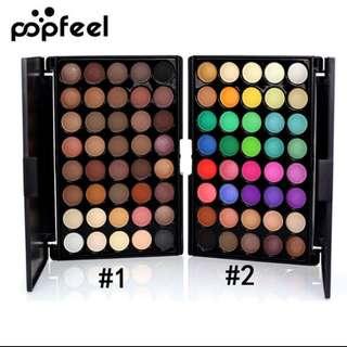 💄💋 Popfeel 40 Colours Mini Eyeshadow Palette